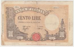 Italy 100 Lire 1943 G-VG Pick 67a  67 A - 100 Lire