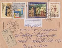 Lettre Algérie 1970. - Algérie (1962-...)