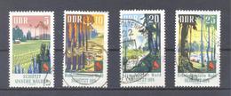 1969   DDR Mi-1462-1465  23.April Schutz Des Waldes - [6] République Démocratique