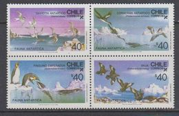 Chile 1986  Antarctica / Animals 4v  ** Mnh (40784G) - Postzegels