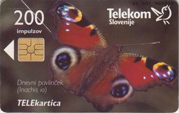 SLOVENIA SCHEDA TELEFONICA Dnevni Pavlinček / Telefoniranje Je Ekološko Neoporečno- FARFALLA - Schede Telefoniche