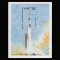 TANZANIA 1999 - Scott# 1845 S/S Space MNH - Tanzania (1964-...)