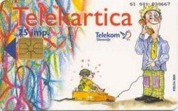 SLOVENIA SCHEDA TELEFONICA Fonton / Splošne Informacije - Schede Telefoniche