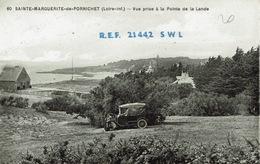 Pornichet (61), Sainte-Marguerite De Pornichet, Vue Prise à La Pointe De La Lande, Superbe Carte QSL - Pornichet