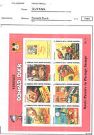 Guyana PO 1993 Disney Donald Duck  S/s Scott.2773 See Scan On Scott.Page - Guiana (1966-...)