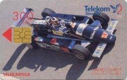 SLOVENIA SCHEDA TELEFONICA Formula 3 Dallara / Casino Portorož - Cars