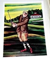 Antigua Postal - Ricardo Ysasi, Algorta(Bilbao) 1917 - GOLF - Pintura & Cuadros