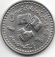 *pakistan 10 Rupee 2009 Km 70 Unc - Pakistán