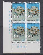 Korea South 1988 Antarctica 1v  Bl Of 4 ** Mnh (40784Q) - Stamps