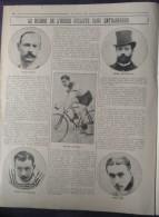 1913 CYCLISME - RECORD DE L'HEURE CYCLISTE - HENRI DESGRANGE - JULES DUBOIS - MARCEL BERTHET - OSCAR EGG - PETIT BRETON - Livres, BD, Revues
