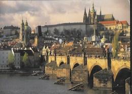 REPUBBLICA CECA - PRAGA - MALASTRANA - VIAGGIATA 2004 FRANCOBOLLO ASPORTATO - Repubblica Ceca