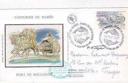 Boulogne Sur Mer - Chasse - Marée - Enveloppe 1er Jour - Boulogne Sur Mer