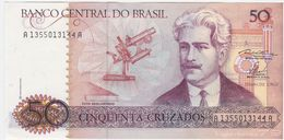 Brazil P 210 - 50 Cruzados 1986 - UNC - Brésil