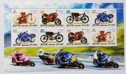 2006 North Korea Stamps Motorcycle MS - Korea, North