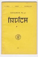 E. J. Brill - Leiden, Netherlands. Catalogue Bibliographique N°471, INDICA (Inde), 1974 - Ontwikkeling