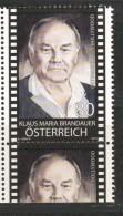 "Österreich 2018: ""Klaus Maria Brandauer""   Postfrisch (siehe Foto) - 1945-.... 2ème République"