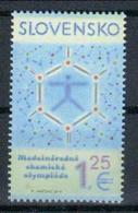 Slowakei '50. Int. Chemie-Olympiade' / Slovakia '50th International Chemistry Olympiad' **/MNH 2018 - Chemistry