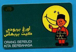 BRUNEI  - Magnetic Phonecard - Brunei