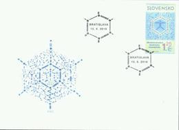 Slowakei '50. Int. Chemie-Olympiade' / Slovakia '50th International Chemistry Olympiad' FDC 2018 - Chemistry