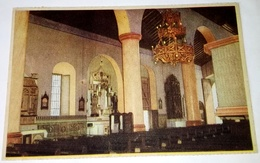 Antigua Postal - Venezuela - Guanare, Detalles De Una De Las Naves Laterales De La Basílica / Edición Bonnelly - Venezuela