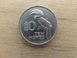 Zambie  10  Ngwee  1972  Km 12 - Zambie