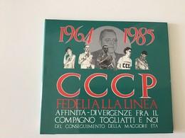 Rox CD CCCP 1964-1985 Affinità-divergenze Fra Il Compagno Togliatti E Noi - Punk