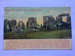 GB - STONEHENGE - 1902 - Tomkins And Barrett - Stonehenge