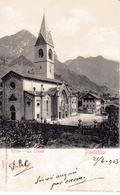 PONTEBBA; La Chiese/Kirche, Filippo Morocutti, Ponteba - Pontafel, 21.6.1903 - Udine