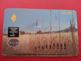 SOUTH COLOMBIA Tamura Leticia Landscape Telecom Field Test Trial $5000 MINT Colombie See Reverse (CB1217) - Colombia