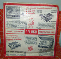 GELOSO RADIO - TELEVISORI REGISTRATORI HI-FI   AUCUN VINYLE - COVER -  NO VINYL - Accessori & Bustine