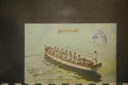 CP, Militaria, Manoeuvres, La Vie Du Marin Un Canot Major N°2706 Edition LV Et Cie MARIN MARINE - Regiments
