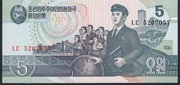 KOREA NORTH P40   5 WON 1998   UNC. - Corée Du Nord