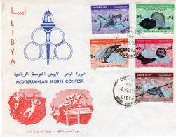 LIBYA 1967 - Giochi Del Mediterraneo - - Libia
