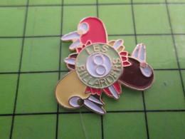 1118a Pin's Pins / Rare Et De Belle Qualité / THEME SPORTS : LES BILLARDS BILLARD MAIS PAS POUR TOI BILLARD67 !!! - Billard
