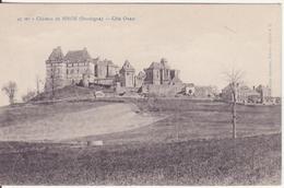 CPA - 49. Château De BIRON Côté Ouest (Dordogne) - France