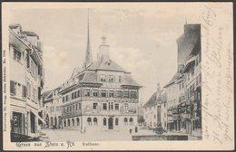 Rathaus, Gruss Aus Stein Am Rhein, Schaffhausen, 1905 - Thomas Zingg AK - SH Schaffhausen