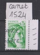 FRANCE - 2018 Sabine Du Carnet 1524 - Carnets