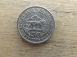 East Africa  50  Cents  1956 H  Km 36 - Britse Kolonie