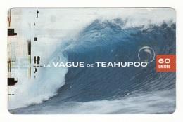 TEAHUPOO 30 000ex 2001 - French Polynesia