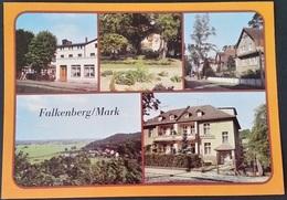 Ak DDR - Falkenberg / Mark  - Ortsansichten - Falkenberg (Mark)