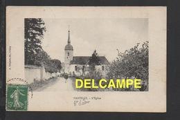 DD / 70 HAUTE SAÔNE / NANTILLY / L' EGLISE / CIRCULÉE EN 1916 - France