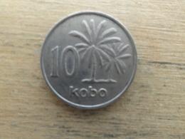 Nigeria  10  Kobo  1973  Km 10.1 - Nigeria