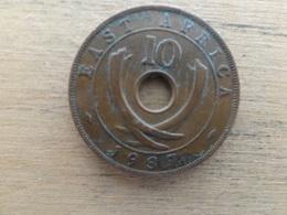 East Africa  10  Cents  1937 Kn   Km 26.1 - Colonie Britannique