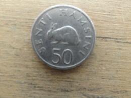 Tanzanie  50  Senti  1966  Km 3 - Tanzania