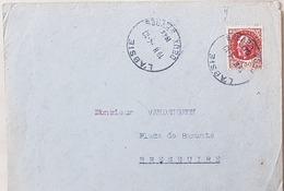 Très Rare ! Lettre Bressuire Avec 1f50 Bersier. 4/10/44. Cote Mayer 1875€ - Liberation