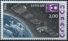 MONACO 1505 ** MNH Espace Eutelstat Space Kosmos Télécom Satellite - Space