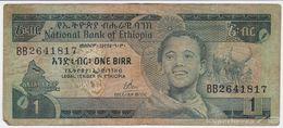 Ethiopia P 30 A - 1 Birr 1976 - Fine - Ethiopie