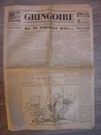 GRINGOIRE 27 MARS 1931 - POULBOT - CHARLIE CHAPLIN - ALBERT EINSTEIN - GUYANNE CAYENNE BAGNE GEO LONDON - LONDRES - Unclassified