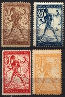 1919 - SHS Yugoslavia Slovenia - VERIGARI Chain Breaker - MH Set - 1919-1929 Royaume Des Serbes, Croates & Slovènes