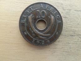 East Africa  10  Cents  1924  Km 19 - Colonie Britannique